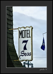 Motel 7 Seas (the Gallopping Geezer '4.5' million + views....) Tags: sign signs signage business store storefront ad advertise advertisement smalltown backroads backroad saultstmariemi michigan upperpeninsula up roadtrip canon 5d3 tamron 28300 geezer 2016 motel7seas motel room rooms rent stay