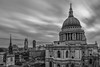 St Paul's Mono (Sam Codrington) Tags: timeoutlondon londonist london church saintpaulscathederal nd sky ndfilter monochrome blackandwhite stpaulscatherdral mono landscape architecture day monochrone