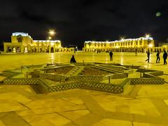 Hassan II Mosque (ristoranta) Tags: canonpowershotsx60hs mosque hassanii casablanca kirkko moskeija marokko yö rakennus morocco ma