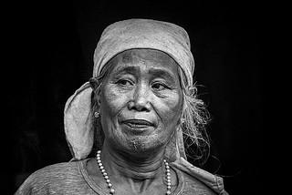 portrait femme province Kalinga Philipines