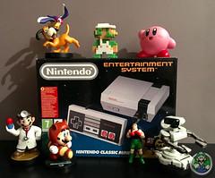 NES CLASSIC EDITION LOOT!!! (Luigi Fan) Tags: nes classic edition mini nintendo entertainment system
