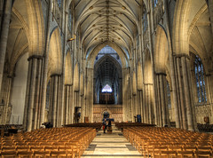 The Nave of York Minster (neilalderney123) Tags: ©2017neilhoward york minster church nave olympus architecture gothic