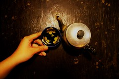 She.Tea.Coffee (yame_mars) Tags: she her tea coffee hand hue vietnam canon wood retro vintage light shade cup