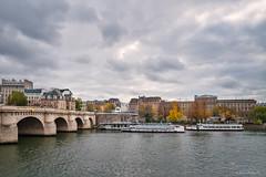 Pont Neuf - Paris (Ennio Fratini) Tags: 510 e510 europa europe fr fra france francia olympus paris sena autumn bridge city cityscape hdr river seine tourism travelphotography îledefrance