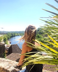 IMG_2701 (margauxpavis) Tags: summer dordogne france été flowers rivière fleuve eau