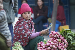 NPL - Nepalese - Katmandu (VesperTokyo) Tags: katmandu kathmandu asia nepal nepalese ネパール人 woman