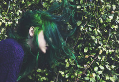 If speaking kindly to plants helps them grow imagine what speaking kindly to humans can do. (andreannelupien) Tags: plant plants green greenhair dyehair girl beauty simple nature witch pure color colorful colour colours outside forest leaves summer spring concept conceptual ideas idea imagine imagination create creative creation surreal surrealism siren women human humans person people face portrait photography