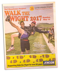 Walk the Wight 2017 - Isle of Wight County Press. (s0ulsurfing) Tags: s0ulsurfing 2017 march news wwwjasonswaincouk image photography isleofwight isle wight island design blatantselfpromotion vectis westwight walkthewight walk walking walkers earlmountbattenhospice hospice charity fundraising people humans hill hills downs coastalpath hiking hikers iwcp