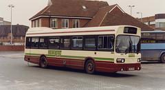Reading-306-LPB200P-Newbury-102-080493a (Michael Wadman) Tags: lpb200p leylandnational lcbs snc200 londoncountry londoncountrybusservices readingtransport newbury