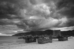 Calm (jaocana76) Tags: getares playa beach algeciras jaocana76 juanantonioocaña canoneos7d canon1635 atardecer sunset strog nubes nuboso clouds cloudy mediterraneo estrechodegiibraltar straitsofgibraltar