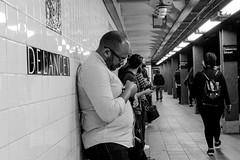 """Delancy (Santos """"Grim Santo"""" Gonzalez) Tags: fttt instagram delancy new york ny 2017 streetphotographer nycstreets newyorkcity newyorknewyork myfujifilm fujifilm picoftheday storyofthestreet nyspc gothamist citylife manhattan grimsanto nyc urbanphoto quietmoments streetphotography nyclife flickr canpubphtoto urbanphotography photooftheday igstreet"""
