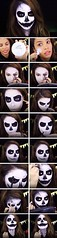 Skull | Skeleton Halloween Makeup , #makeup , FB: http://ift.tt/2oAI9AI (ineedhalloweenideas) Tags: skull | skeleton halloween makeup costume happy h