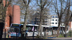 Mercedes O530G Citaro 'Bendibus' 6012 joins 6016 - in withdrawal (paulburr73) Tags: 6016 6012 citaro o530g bendibus mercedes bus articulated wt cv coventry nxc artic dumped withdrawn pair withdrawal abandoned spring 2017 april buses garage depot midlands westmidlands