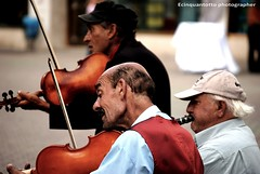 Music (Ecinquantotto ( + 1.130.000 ...grazie !! )) Tags: musik street strada musica zigani colori colors d3000 hungarian ungheria music muzak nikon nikond3000 budapest