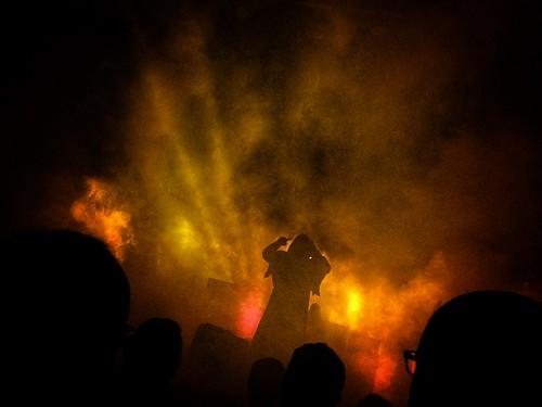 sunn o))) convergene festival, the barbican london.