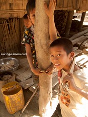 Boys of the Chin Tribe, Rakhine State, Myanmar, 2016 (deemixx) Tags: myanmar burma rakhinestate chintribe boys shy curious bashful tribe tribal offthegrid