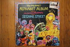 Muppet Alphabet Album (1976) (Donald Deveau) Tags: themuppets record lp album sesamestreet bigbird jimhenson tvshow alphabetalbum