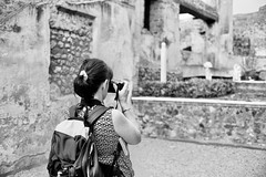super sharp shooter (doggle) Tags: olympus35sp fujifilmneopanacros100 35mm film bw monochrome pompeii roman italy hoyaorangegfilter
