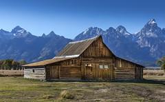Mormon Row, Grand Teton Park (E.K.111) Tags: nationalpark mormonrow house architecture historicalplaces