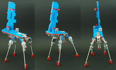 Mammothkoma (01) (F@bz) Tags: lego moc space sf cyberpunk tachikoma marchikoma gits