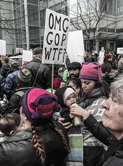 IMG_0263 (justine warrington) Tags: womens march womensmarch womensmarchonwashington washington pink pussy hats pinkpussyhat protest signs trump 45th presidential election january 21st 2017 potus resist resistance is fertile