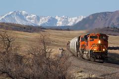 BNSF 8751 Greenland 15 Apr 17 (AK Ween) Tags: bnsf bnsf8751 emd sd70ace greenland colorado jointline rampartrange pikespeak train railroad