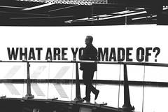 What are you made of? (Marta Marcato) Tags: bw people screen guinness man light blackwhite uomo persona schermo luce nikond7200 dublin dublino irlanda