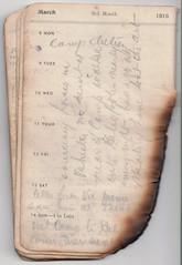 8-14 Mar 1915 (wheresshelly) Tags: ww1 wwi world war 1 australia gallipoli egypt military australian 4th field ambulance anzac morton wilfred