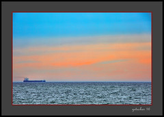 Far Away Freighter (the Gallopping Geezer '4.5' million + views....) Tags: freighter boat ship shipping travel transportation freight greatlakes lakesuperior whitefishpoint mi michigan upperpeninsula up roadtrip tourist tour canon 5d3 tamron 28300 geezer 2016