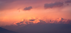 Today's Sunset (UnproPhotography) Tags: sunset andes landscapephotography mountains clouds chile santiago nature