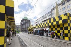 Hannover, Steintor (Tim Boric) Tags: hannover haltestelle busstops tramhalte halte steintor alessandromendini tram tramway streetcar strassenbahn üstra