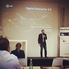 """Again on stage at Cloud Practice Days 2017 talking about """"Cloud & AI as part of the Digital Enterprise Agenda"""". #AI #artificialintelligence #cloud #digital #digitalenterprise #transformation #analyst #marketresearch #keynote #keynotespeaker #renebuest #co (ReneBuest) Tags: instagramapp square squareformat iphoneography uploaded:by=instagram rise"""