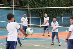 CEM Giovania de Almeida 26 04 17 Foto Celso Peixoto (7) (Copy) (prefbc) Tags: cem giovania almeida escola educação atividade escolar esporte volei