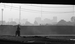 Lagos - Crusin' For Burgers (* Daniel *) Tags: olympus om2sp olympusom2spotprogram markdaniel markdanielphotocom om2spotprogram agfarodinal agfaagfapanapx100 agfaapx100 agfaphoto agfaphotoapx100 lagos nigeria westafrica film filmgrain grain 100asa bw blackwhite blackandwhite road candid candidstreetportrait street streetphotography streetphoto mono monochrome monotone rodinal filmdev:recipe=11344 film:brand=agfa film:name=agfaagfapanapx100 film:iso=100 developer:brand=agfa developer:name=agfarodinal