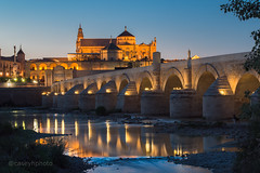 CH-6797 - Cordoba, Spain (N+C Photo) Tags: andalucia d800 españa europe andalusia cordoba nikkor nikon spain water agua river rio europa european andaluz bridge puente reflection reflejos culture cultura guadalquivir roman catholic islam islamic christian christianity history historic historico cathedral bluehour sunset architecture arquitectura architectural mosque mezquita lights travel traveler traveling traveller travels adventure adventurers adventurer adventuring explore explorer exploring 70200vrii