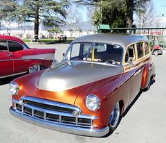 1949 Chevrolet styleline (bballchico) Tags: 1949 chevrolet styleline stationwagon steelwoody martyfisher gnrs2017 carshow