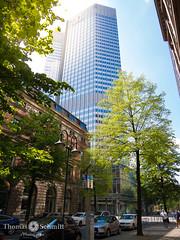 Eurotower (Seppelche) Tags: eurotower gallusanlage frankfurtm architektur gebäude gegenlicht stadt wolkenkratzer mainhattan