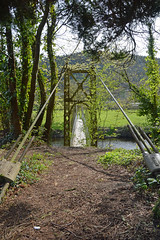 sappers bridge 2 (Lord Edam) Tags: river afon llugwy conwy wildlife morning water rocks fields bridge engineering