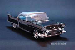 1957 Cadillac ELDORADO BROUGHAM 4 (DOLPHIN☆CRAFT) Tags: brougham eldorado 1957 cadillac キャデラック エルドラド プラモデル