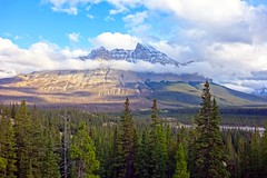 Playing With The Clouds (davedit) Tags: mountains icefieldsparkway alberta canada scenery landscape clouds