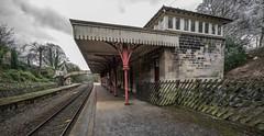 Cromford Station (Gordon Haws) Tags: cromfordstation derbyshiredales victoriana grade2listed networkrail eastmidlandstrains derwentvalleyline derbymatlockrailway willersleytunnel midlandrailway