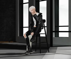 time stood still, the way it did before (@teayou) Tags: sl secondlife teayou youpi male slink hair doux jacket gabriel top boystothebone bttb tmd themensdepartment jeans unkwn boots semller poses rk backdrop skybox leijin tattoo carolg tc4 thechapterfour