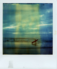 (Matt Chalky Smith) Tags: roidweek polaroid tz timezero time zero surfing surfer longboard instantsurf