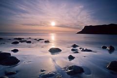 Isle of Skye Sunset (PeterYoung1.) Tags: atmospheric beautiful beach nature reflections rocks scenic scotland scottish isleofskye skye sunset seascape taliskerbay water uk sun peteryoung1