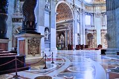 IMG_1000ST Rome. Vatican. San Pietro. La croisée du transept. The crossing of the transept. (jean louis mazieres) Tags: rome vatican sanpietro