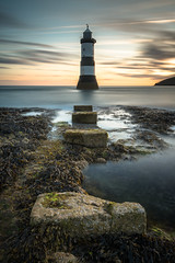 Penmon (evorichie101) Tags: penmon point lighthouse sunrise colour long exposure rocks stones sea landscape seascape nikon 1635