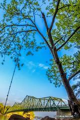 Easter at Browns Bridge (The Suss-Man (Mike)) Tags: bridge brownsbridge clouds forsythcounty gainesville georgia hallcounty lake lakelanier lanier longexposure nature rocks rope slowshutterspeed sonyilca77m2 sussmanimaging thesussman trees water