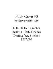 back cove *card (Soundings Magazine) Tags: boats pocketcruisers cruisers yachts