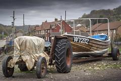 Skinningrove, North Yorkshire (DM Allan) Tags: skinningrove boats tractors beach coast northyorkshire