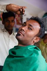 Looking sharp! (._-Patrick-_.) Tags: hairdresser dirang arunachalpradesh arunachal india northeast northeastindia cool canon 5d 5diii 24 2470 travel reise